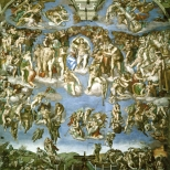 World Scripture for Daily Living.corpvs Michaelangelo al fresco - The Sistine Chapel the Last Judgments Ca 1500-1600